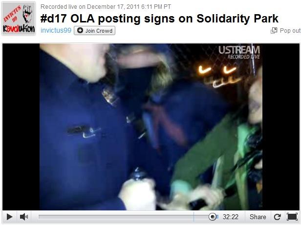 Occupy LA Baton to breast 2