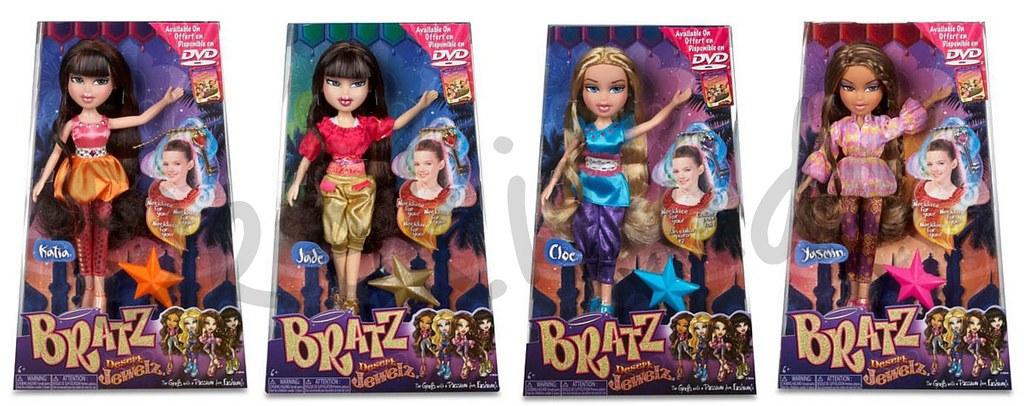 bratz desert jewelz dolls in boxes hate the hair love