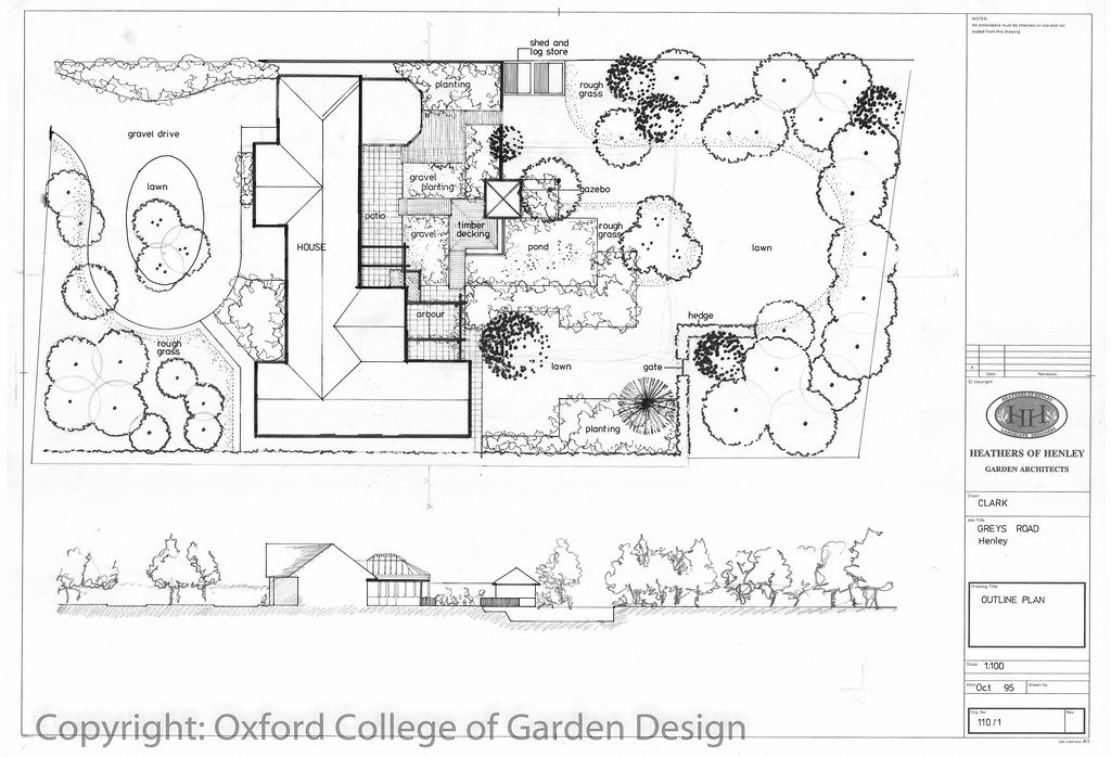 107 garden landscape design oxford college of garden for Oxford garden designs