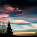 """Rainbow Clouds - """"mother of pearl clouds"""" - """"nacreous clouds"""""""