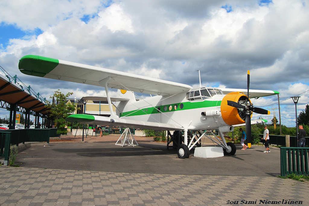 Antonov AN-2 - Utti | Antonov AN-2 Utissa ABC-huoltoaseman p… | Flickr
