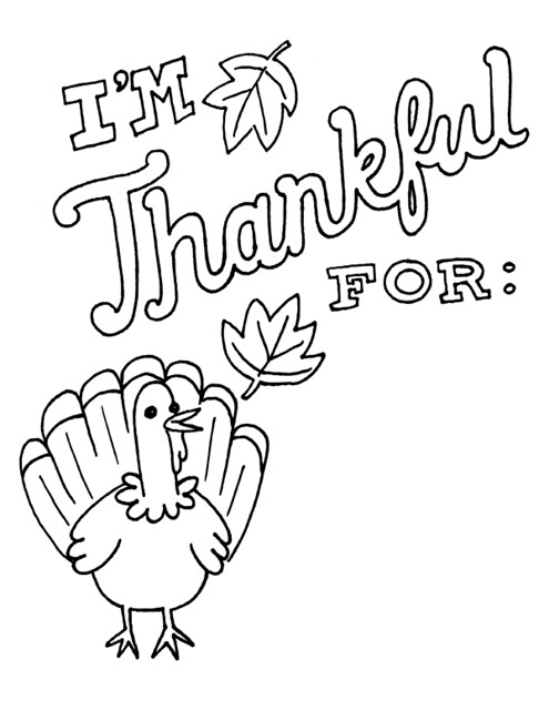 im thankful for coloring pages - photo #2