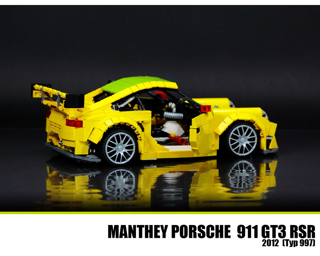 lego porsche 911 gt3 rsr the new porsche 911 gt3 rsr is. Black Bedroom Furniture Sets. Home Design Ideas