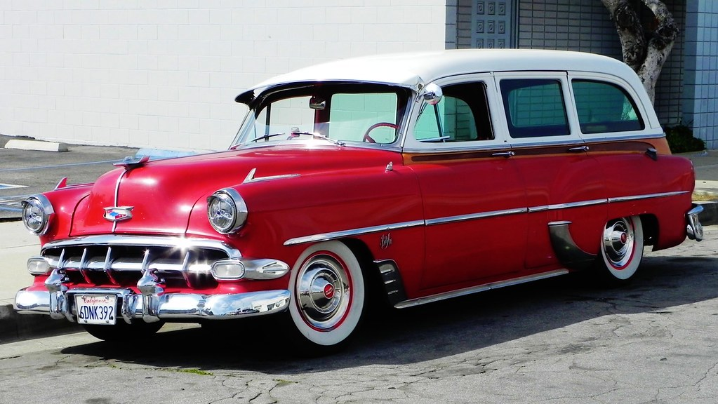 54 Chevy Bel Air Wagon Spotted In Fullerton Southern