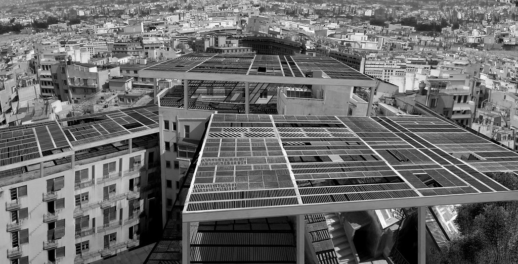 Athens terrace works