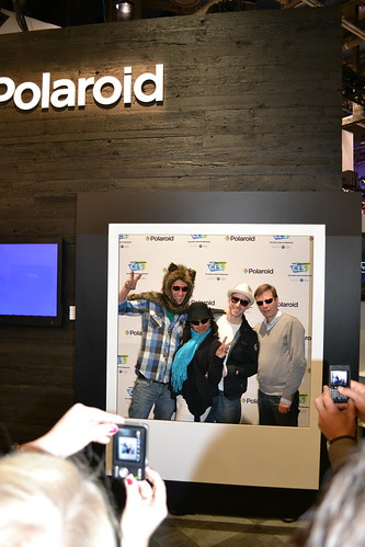 Polaroid photo op | by International CES