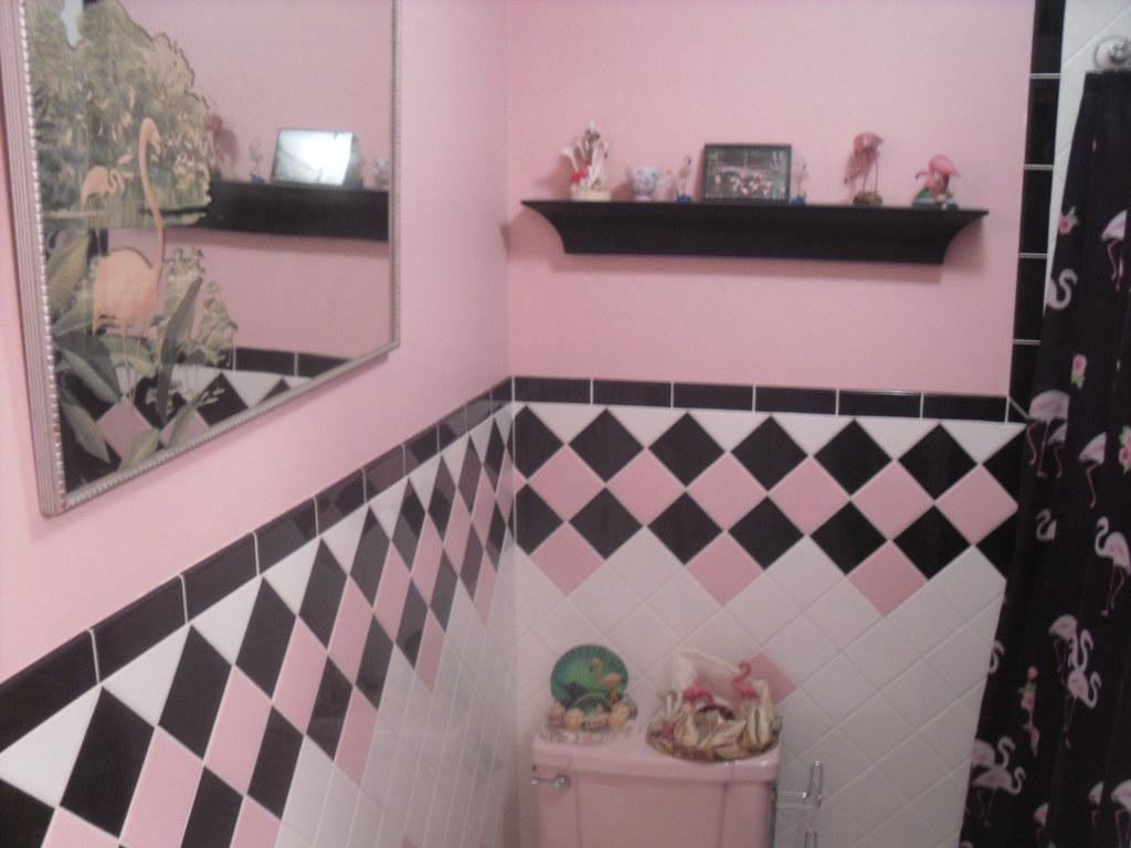 MY PINK FLAMINGO BATHROOM   The Pink Tile Is Actually 1950u0027su2026   Flickr