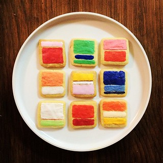 Rothko cookies | by Competitive Cyclist Photos