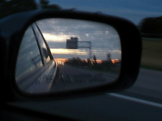 90E Rearview Sunset | by farrellink