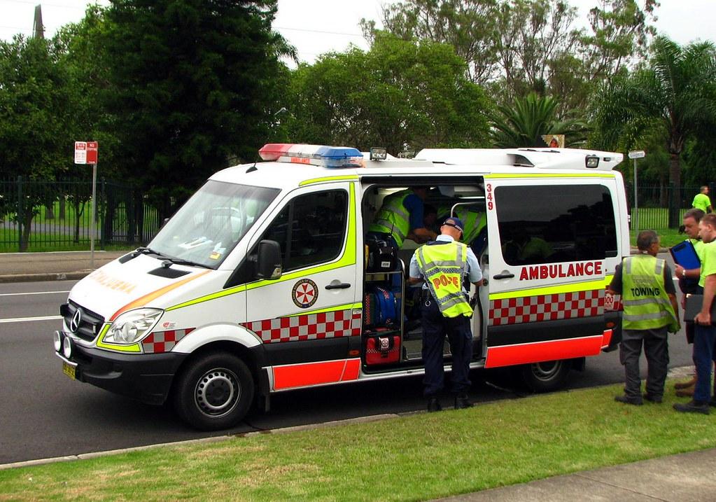 Ambulance Service Nsw Mercedes Benz Sprinter Highway