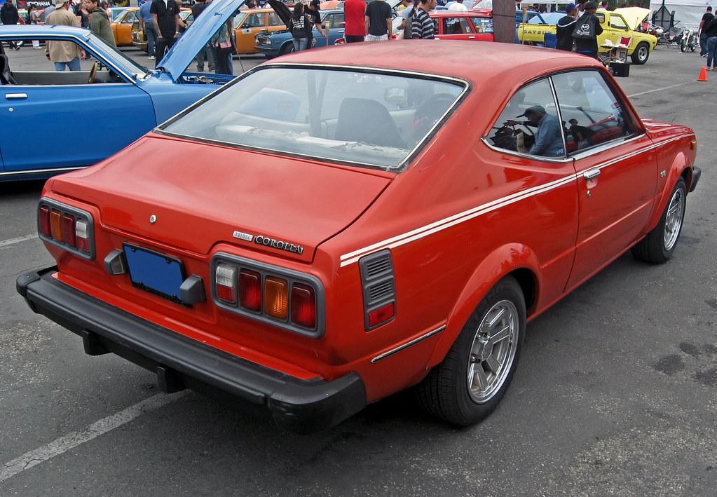 1976 Toyota Corolla SR5 liftback rear 3q | Ate Up With ...