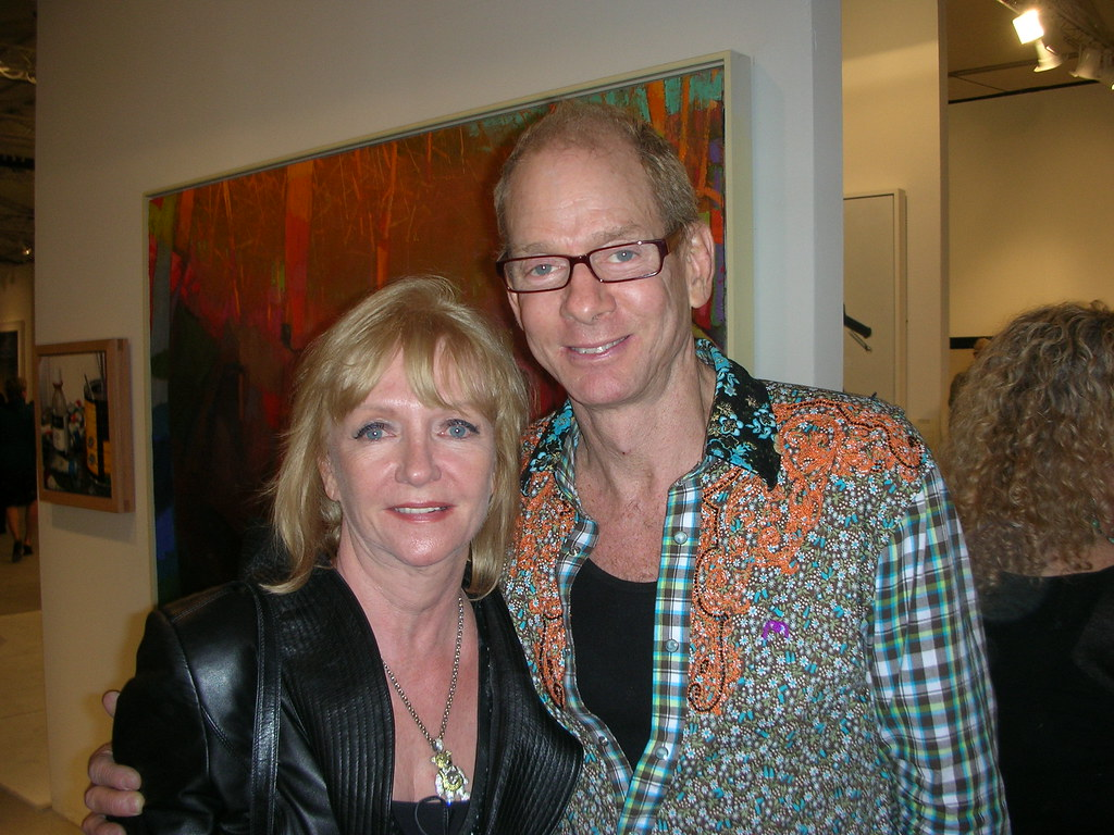 Collector Manuela Muller With Interior Designer Kevin Gray