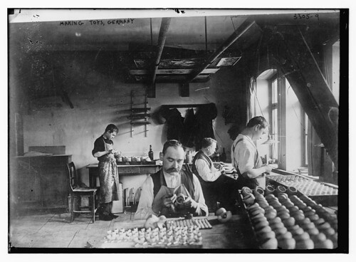 Making toys, Germany  (LOC) | by The Library of Congress
