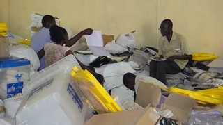 Vote counting in Kinshasa December 2, 20011 | by NDI_RDC