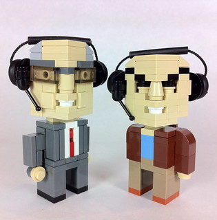 Carl Kasell & Peter Sagal | by davekaleta