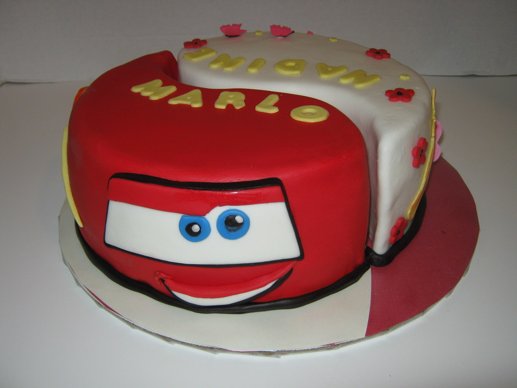 Combined Birthday Cakes For Boys