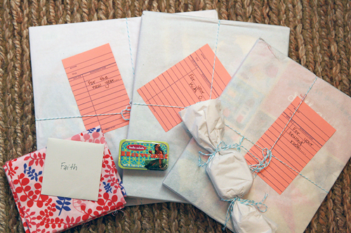 My SSSwap package from Amber! | by Fresh Lemons : Faith