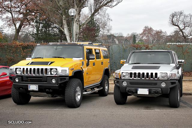 Duo Hummer H2 Amp H3 Flickr Photo Sharing