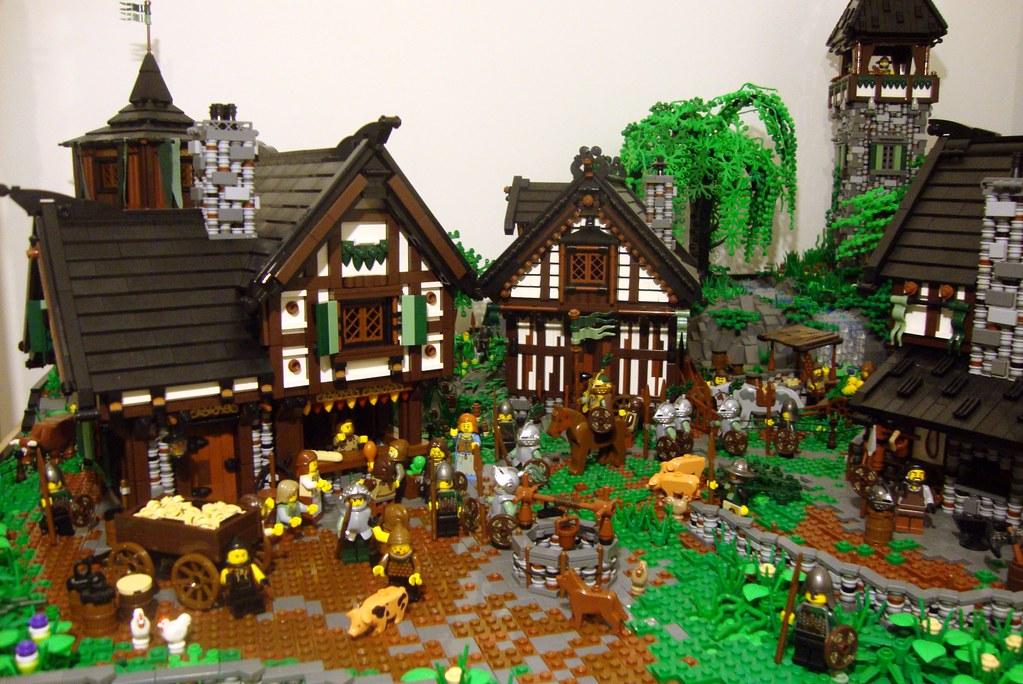 Guide pour créer un village médiéval 6560406625_a8d45f8204_b
