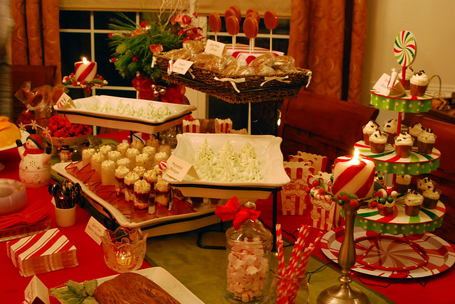 christmas dessert table flickr photo sharing. Black Bedroom Furniture Sets. Home Design Ideas