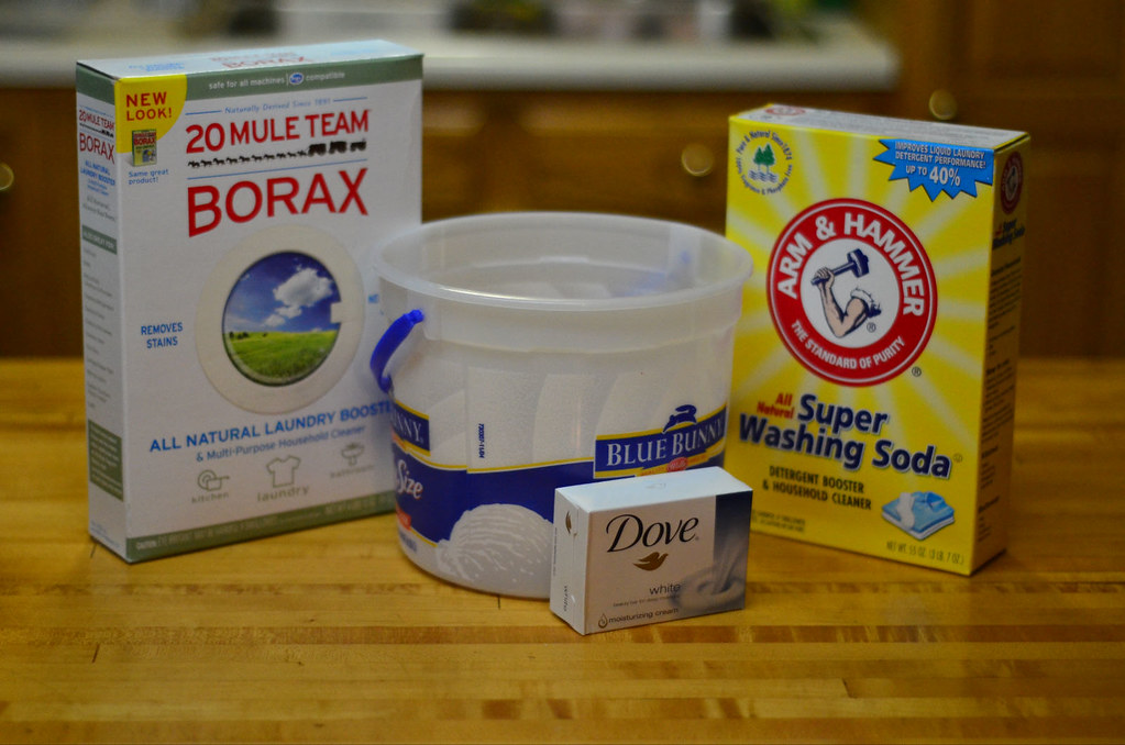 Make Your Own Powdered Laundry Detergent 18 365 Entry