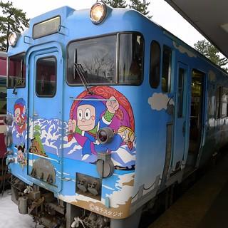 忍者ハットリくん列車 @ 氷見線