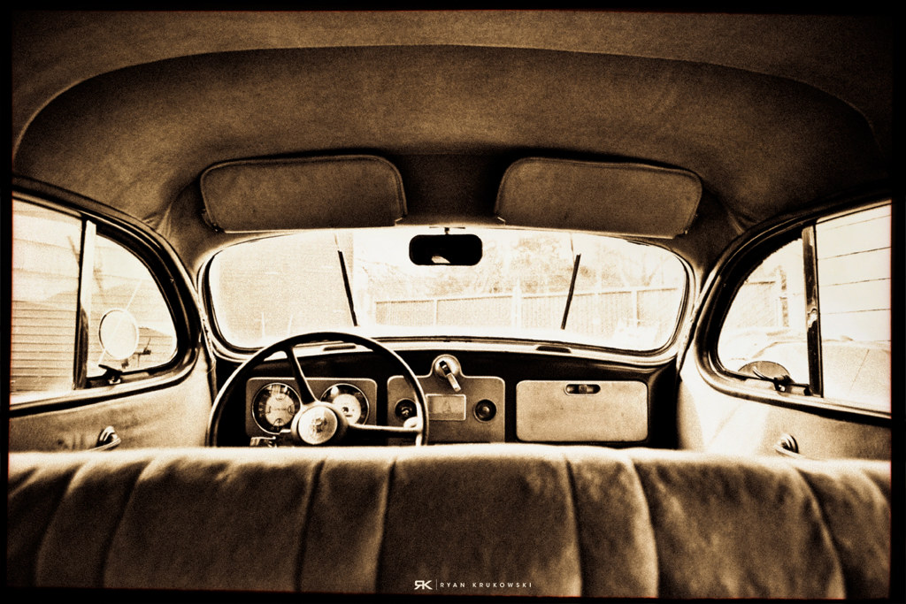 1937 Plymouth P4 Interior Damn Was It Cold Out Today Foun Flickr
