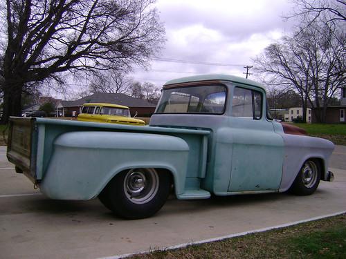 1957 chevrolet truck big window by grizfan for 1957 chevy big window truck for sale