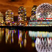 Vancouver Science World Night View