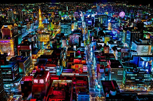 Sapporo Night Lights