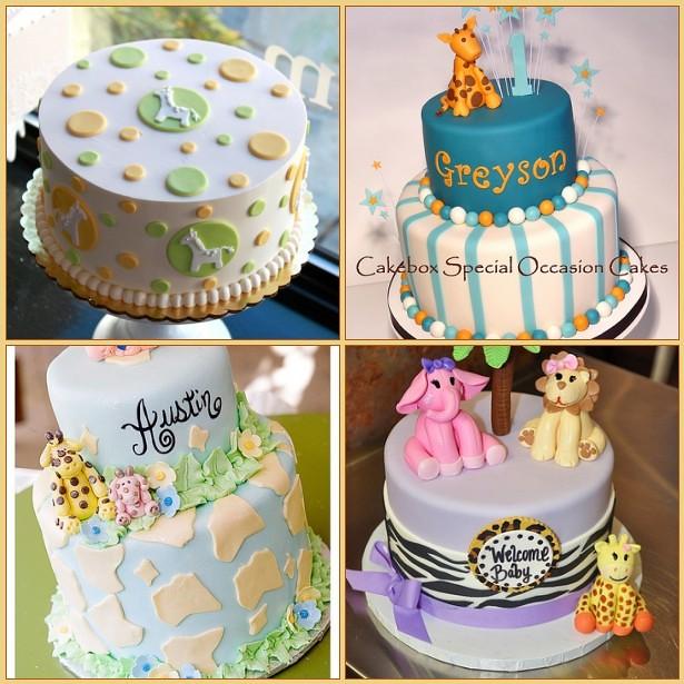 giraffe baby shower cakes 1 dotty giraffe cake 2 giraff