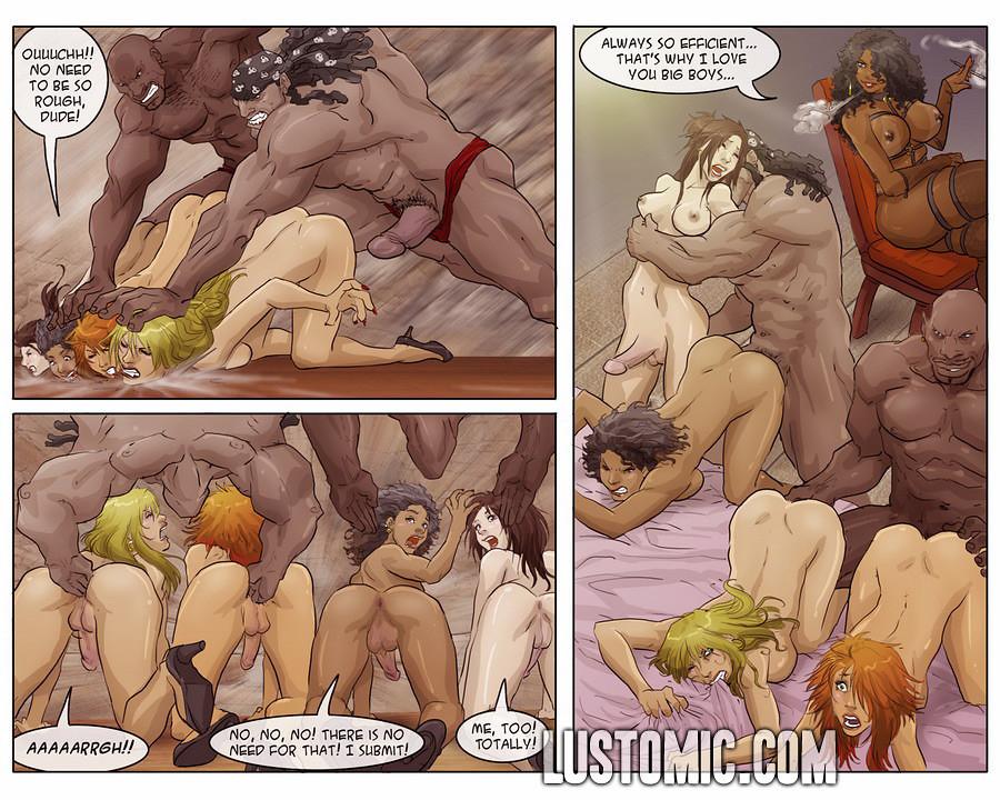 Женомужчины порно комиксы
