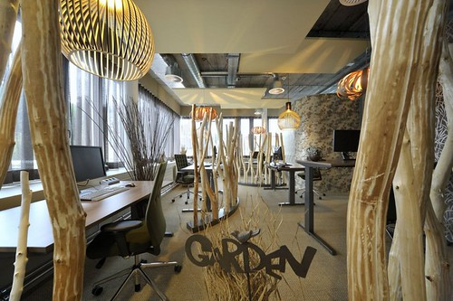 Unilever Headquarters unusual interior design | by Think Tank London