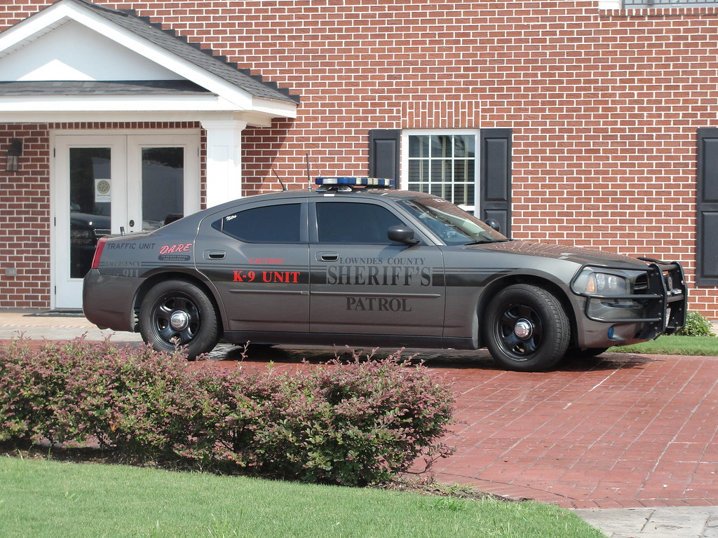 Lowndes Co Sheriff Ga Dodge Charger K 9 Unit This
