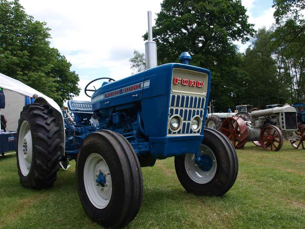 Ford 3000 Farm Tractor : Ford farm tractors