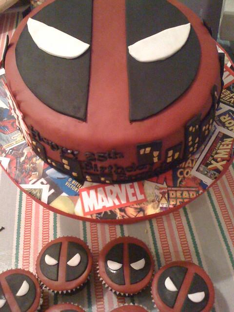 Deadpool Cake Flickr Photo Sharing