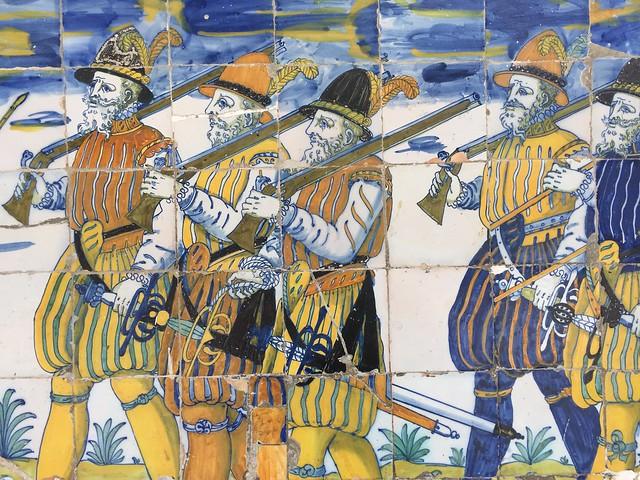 Azulejos de la Basílica de Nuestra Señora del Prado en Talavera de la Reina