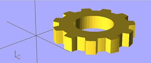 OpenSCAD Interlock Logo | by bert_m_b