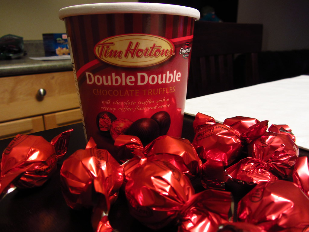 Reviews >> Tim Hortons - Double Double Chocolate Truffle | Tim Hortons … | Flickr