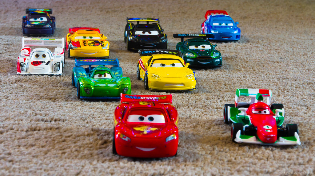 Cars Race Cast Managed To Get Me Cars Obsessed Son All Flickr