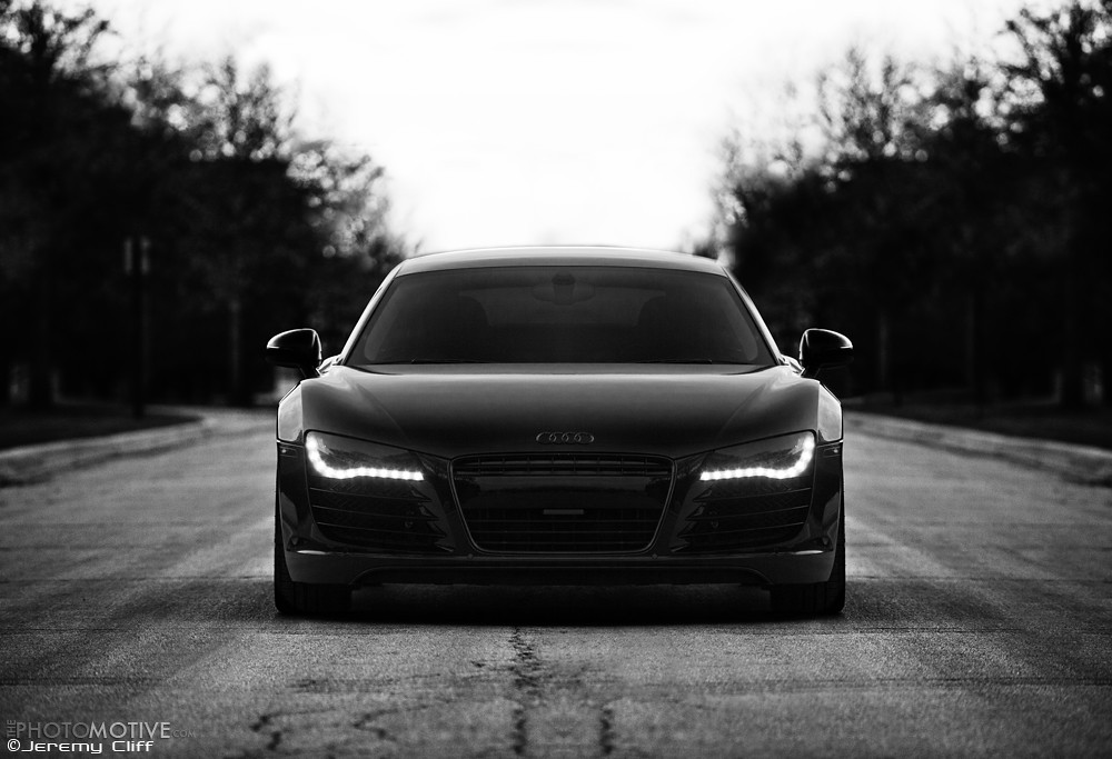 2010 Audi R8 | Blacked out Audi R8 put together by Autowerks… | Flickr