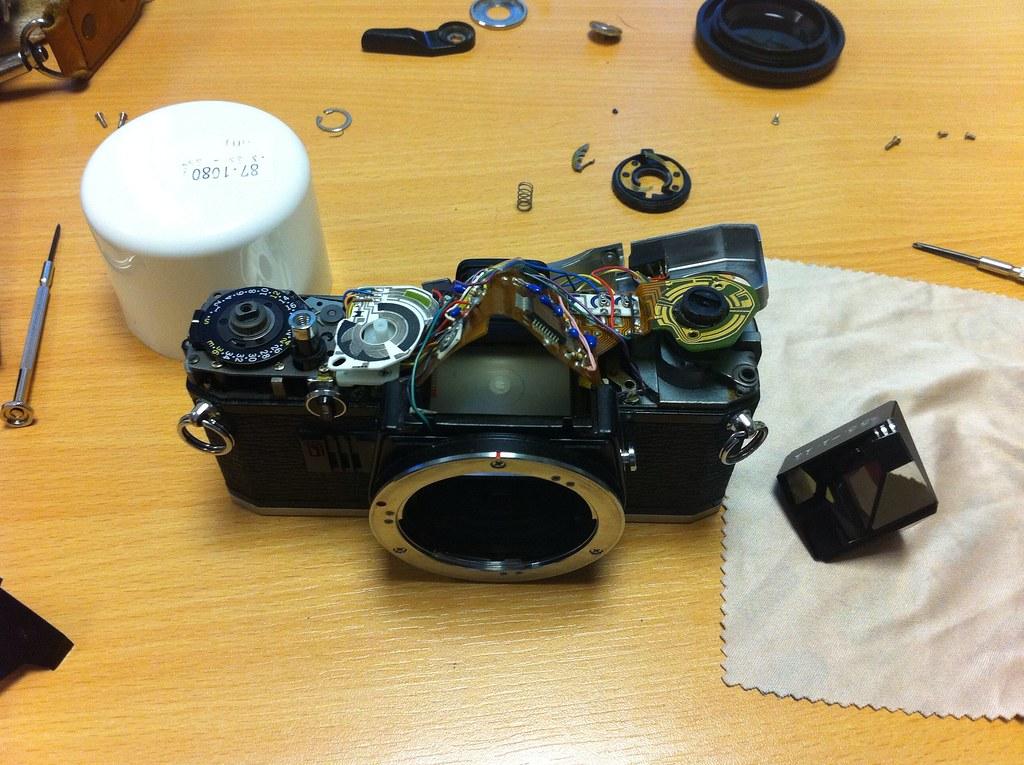 Camera Parts Diagram Olympus 14xa Teleconverter Exploded Parts