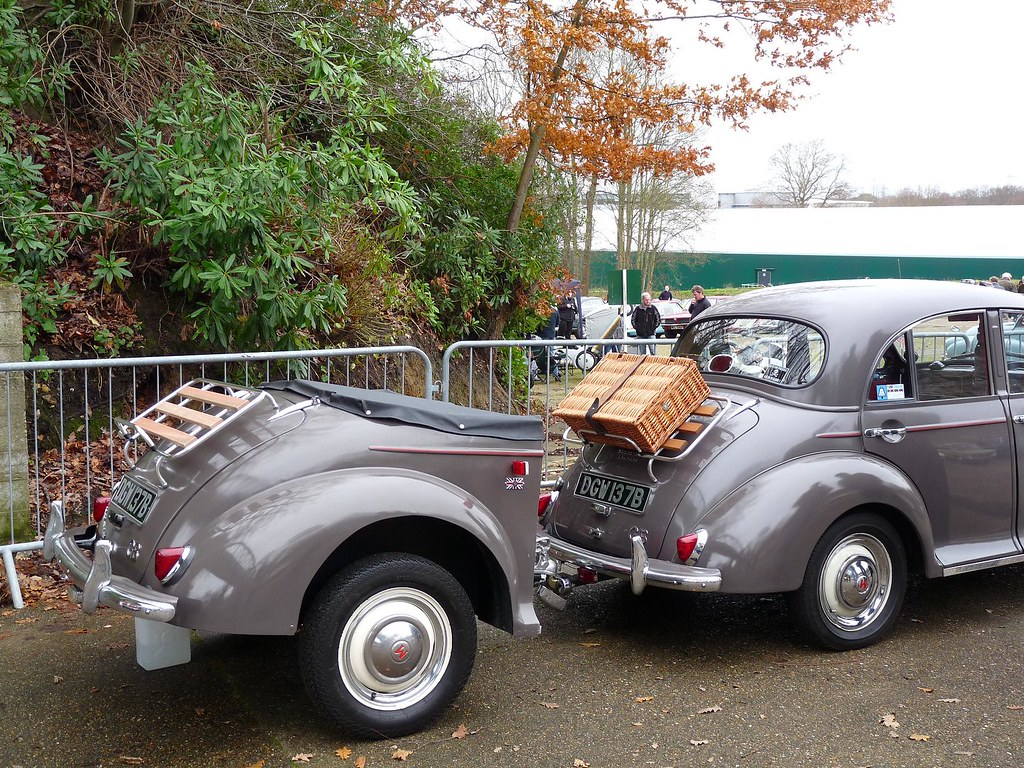 Morris Minor trailer | New Years Day Gathering 2012 ...
