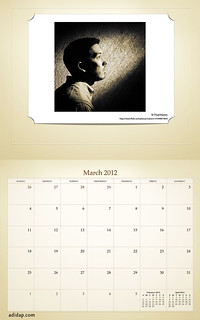 ADIDAP Calendar 2012 US Retro March | by akhater