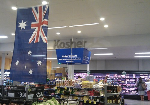 Supermarket multiculturalism on Australia Day | by Daniel Bowen