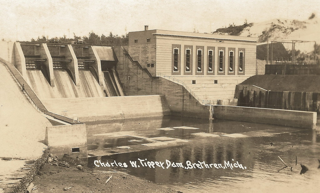 Nw wellston mi rppc 2 industry power generation great fish for Manistee river fishing report tippy dam