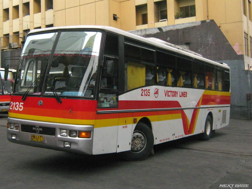 Victory Liner 2135 Victory Liner Inc Bus Number 2135 Man Flickr