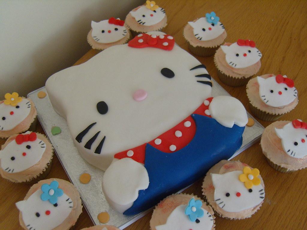 Hello Kitty Cupcakes Walmart Hello Kitty Cake Cupcakes With Hello