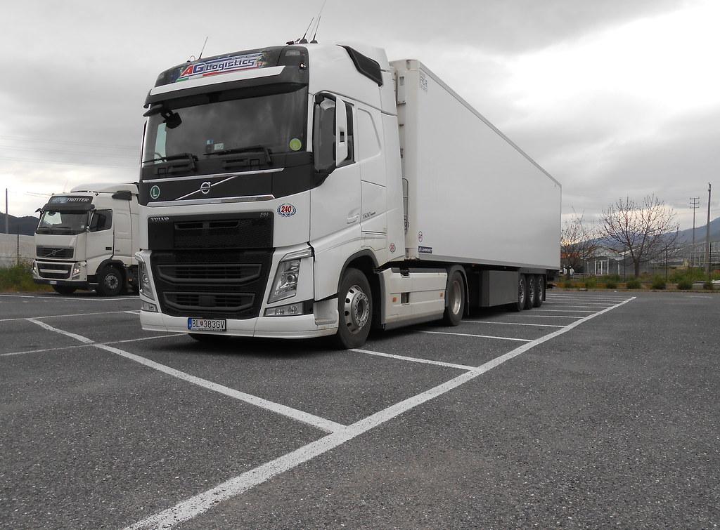 sk ag logistics new volvo fh 500 matte trucks. Black Bedroom Furniture Sets. Home Design Ideas