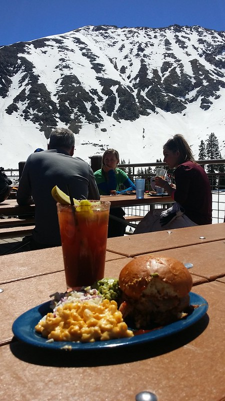 Lunch at Arapahoe Basin